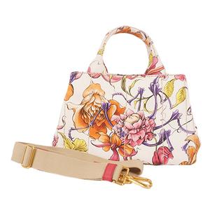 Auth Prada Canapa Handbag