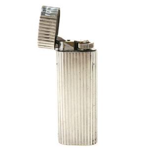 カルティエ(Cartier) たばこ用ライター シルバー オーバル