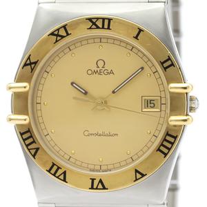 【OMEGA】オメガ コンステレーション K18 ゴールド ステンレススチール クォーツ メンズ 時計 396.1070
