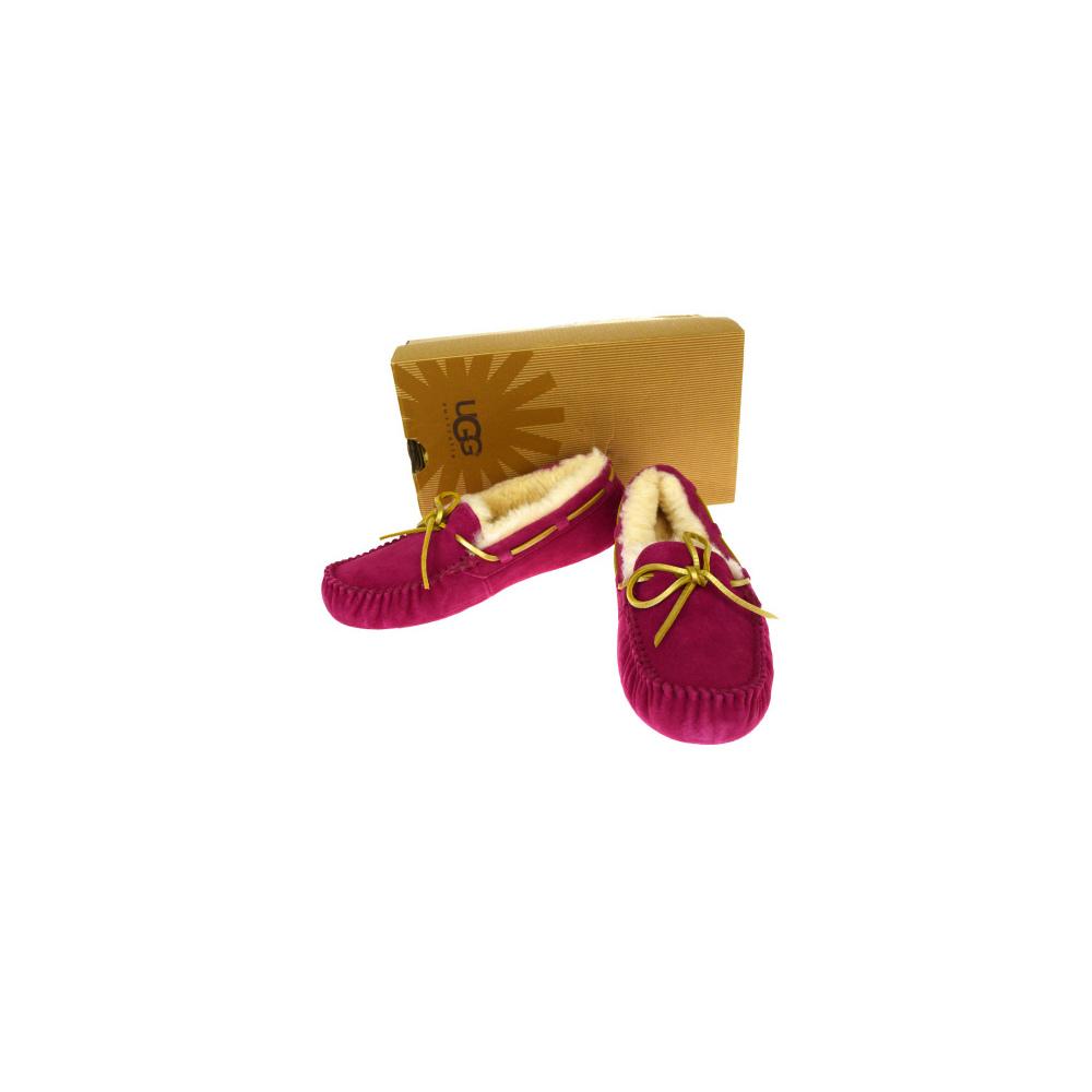 アグ・オーストラリア(UGG Australia) Dakota レディース モカシン (ピンク) 靴
