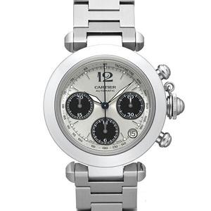 カルティエ(Cartier) パシャ・ドゥ・カルティエ 自動巻き ステンレススチール(SS) ボーイズ 高級時計 パシャC クロノグラフ