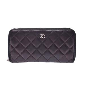シャネル(Chanel) マトラッセ レザー 財布