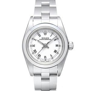 ロレックス(Rolex) オイスターパーペチュアル 自動巻き ステンレススチール(SS) レディース 高級時計 76080