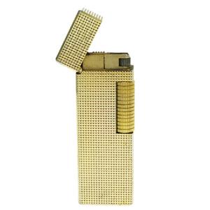 ダンヒル(Dunhill) たばこ用ライター ゴールド ローラガス ダイヤカット