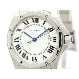 Cartier Santos Cougar Quartz Stainless Steel Women's Dress Watch