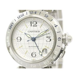 Cartier Pasha C Automatic Stainless Steel Unisex Dress Watch W31029M7