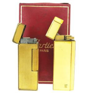 カルティエ(Cartier) たばこ用ライター 2点セット ダンヒル(dunhill)