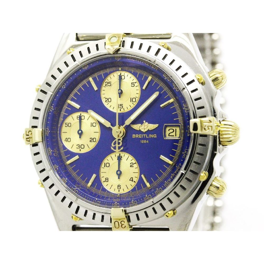 Breitling Chronomat Automatic Stainless Steel,Yellow Gold (18K) Men's Sports Watch D13047