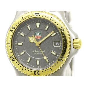 Tag Heuer Sel Quartz Gold Plated,Stainless Steel Men's Dress Watch WG1220