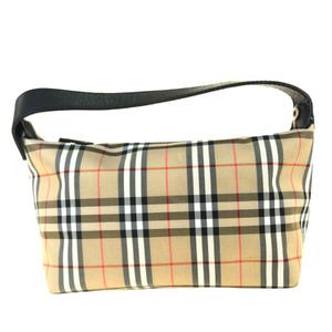 Burberry Nova Check Nylon,Leather Shoulder Bag Beige