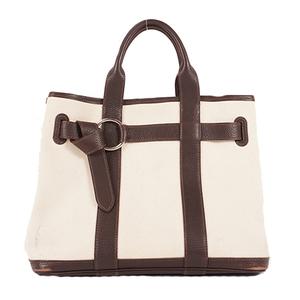 Auth Hermes  Petite Suntulle PM Women's Canvas Handbag