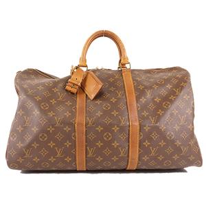 Louis Vuitton Monogram Keepall50 M41426 Unisex,Men,Women Boston Bag Monogram