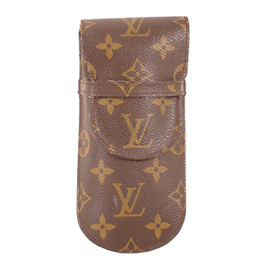 Auth Louis Vuitton Monogram M62962 Soft Eyeglass Case