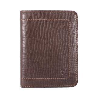 Louis Vuitton Utah M92075 Men's Utah Leather Bill Wallet (bi-fold) Coffee