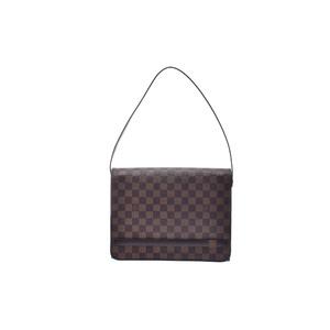 ルイ・ヴィトン(Louis Vuitton) ダミエ トライベッカ・カレ N51161 ショルダーバッグ エベヌ