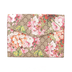 Gucci GG Blooms 410549 Cluch Bag Men,Women,Unisex Clutch Bag Beige,Pink