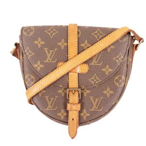 Louis Vuitton Monogram M51234 Women's Shoulder Bag Brown