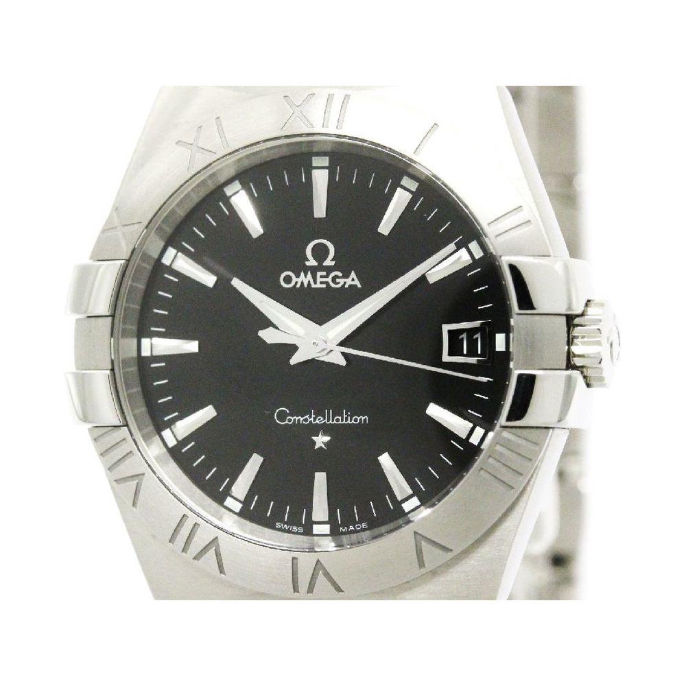 Omega Constellation Quartz Stainless Steel Men's Dress Watch 123.10.35.60.01.001