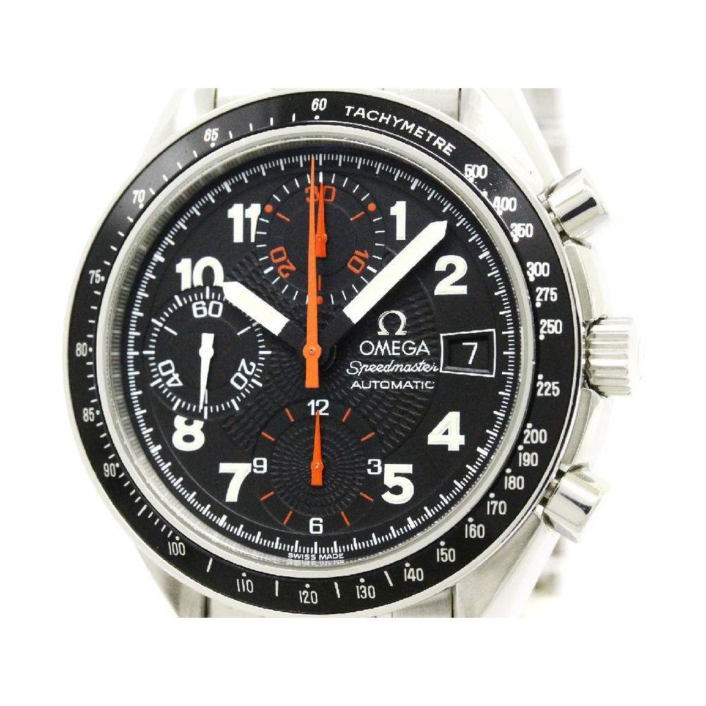 Omega Speedmaster Automatic Stainless Steel Men's Sports Watch 3513.53