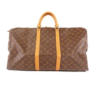 ルイ・ヴィトン(Louis Vuitton) モノグラム キーポル55 Keepall55 M41424 メンズ,レディース,ユニセックス ボストンバッグ ブラウン