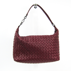 Bottega Veneta Intrecciato Women's Leather Handbag Bordeaux