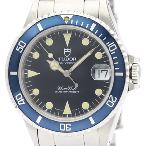 Tudor Submariner Automatic Stainless Steel Men's Sports Watch 75090