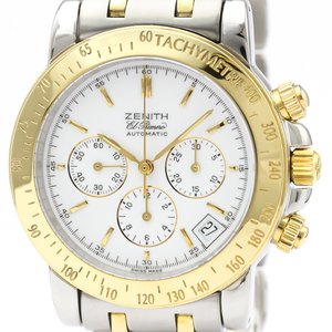 Zenith Rainbow Automatic Stainless Steel,Yellow Gold (18K) Men's Sports Watch 53.0360.400