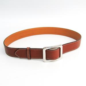Hermes Women's Leather Belt Brown 70