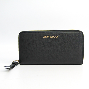 Jimmy Choo Women's  Calfskin Long Wallet (bi-fold) Black