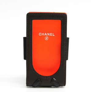 Chanel A29808 Cambon Ligne MP3 Player Case For IPod Mini, Brown