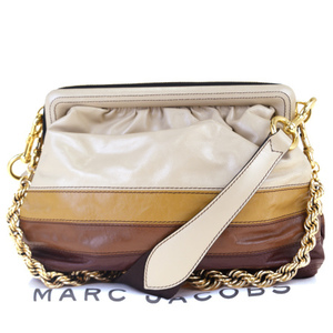 マーク・ジェイコブス(Marc Jacobs) 2WAY レザー ショルダーバッグ ブラウン