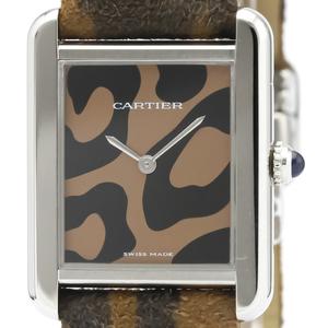 Cartier Tank Solo Quartz Stainless Steel Unisex Dress Watch W5200016