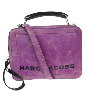 マーク・ジェイコブス(Marc Jacobs) 2WAY レザー ハンドバッグ パープル