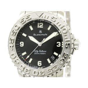 Blancpain Trilogy Automatic Stainless Steel Men's Sports Watch 2200-1130-71
