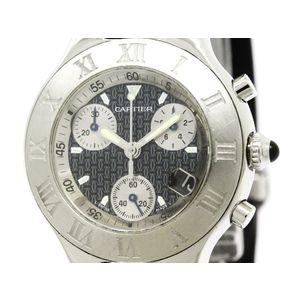 Cartier Must 21 Quartz Stainless Steel Men's Sports Watch W10125U2