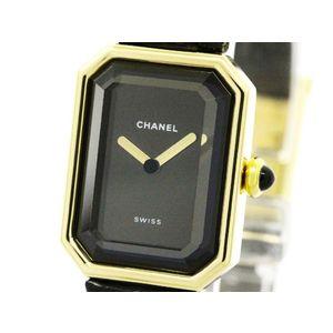 Chanel Premiere Quartz Yellow Gold (18K) Women's Dress Watch H0090