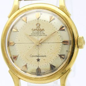 Omega Constellation Automatic Gold Plated Men's Dress Watch 2852