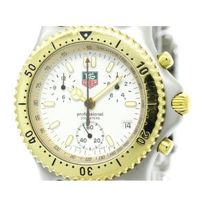 Tag Heuer Sel Quartz Stainless Steel,Gold Plated Men's Sports Watch S35.006