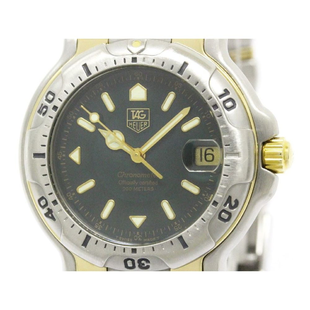 Tag Heuer 6000 Series Automatic Stainless Steel,Yellow Gold (18K) Men's Sports Watch WH5153