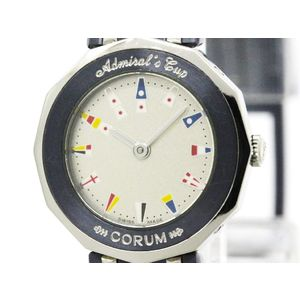 CORUM Admirals Cup Steel Quartz Ladies watch 24.810.30