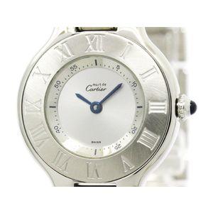 Cartier Must 21 Quartz Stainless Steel Women's Dress Watch W10109T2