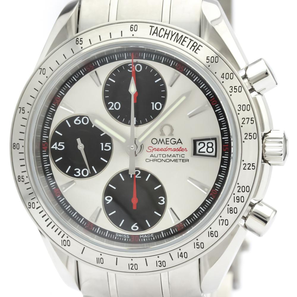 【OMEGA】オメガ スピードマスター デイト ステンレススチール 自動巻き メンズ 時計 3211.31