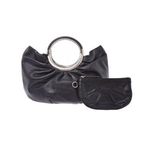 Christian Dior Leather Bag Black