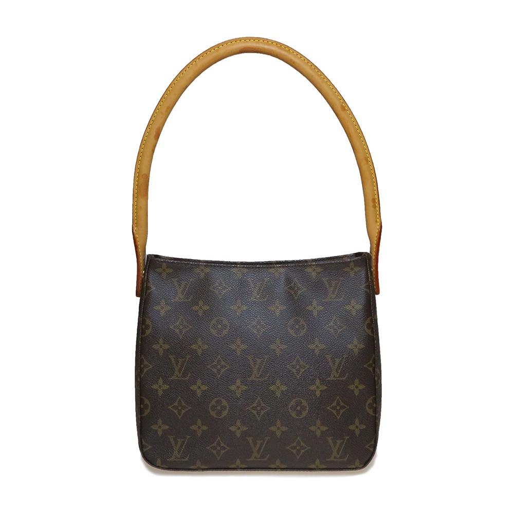 Auth Louis Vuitton Monogram M51146 Looping Mm Women S Shoulder Bag Elady