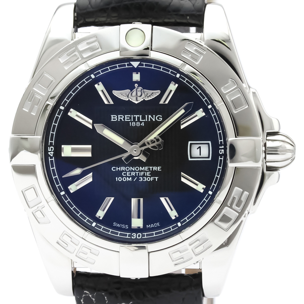 Breitling Galactic Quartz Stainless Steel Women's Dress Watch A71356