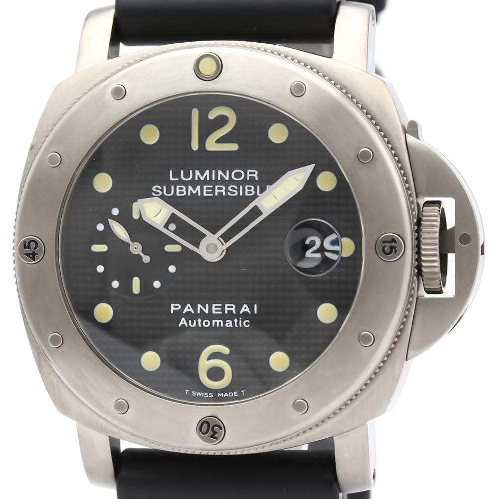 Officine Panerai Luminor Automatic Titanium Men's Sports Watch PAM00025