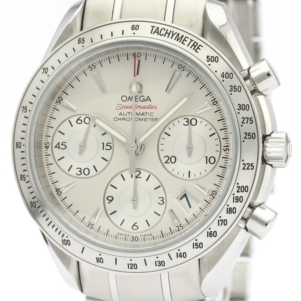 Omega Speedmaster Automatic Stainless Steel Men's Sports Watch 323.10.40.40.02.001