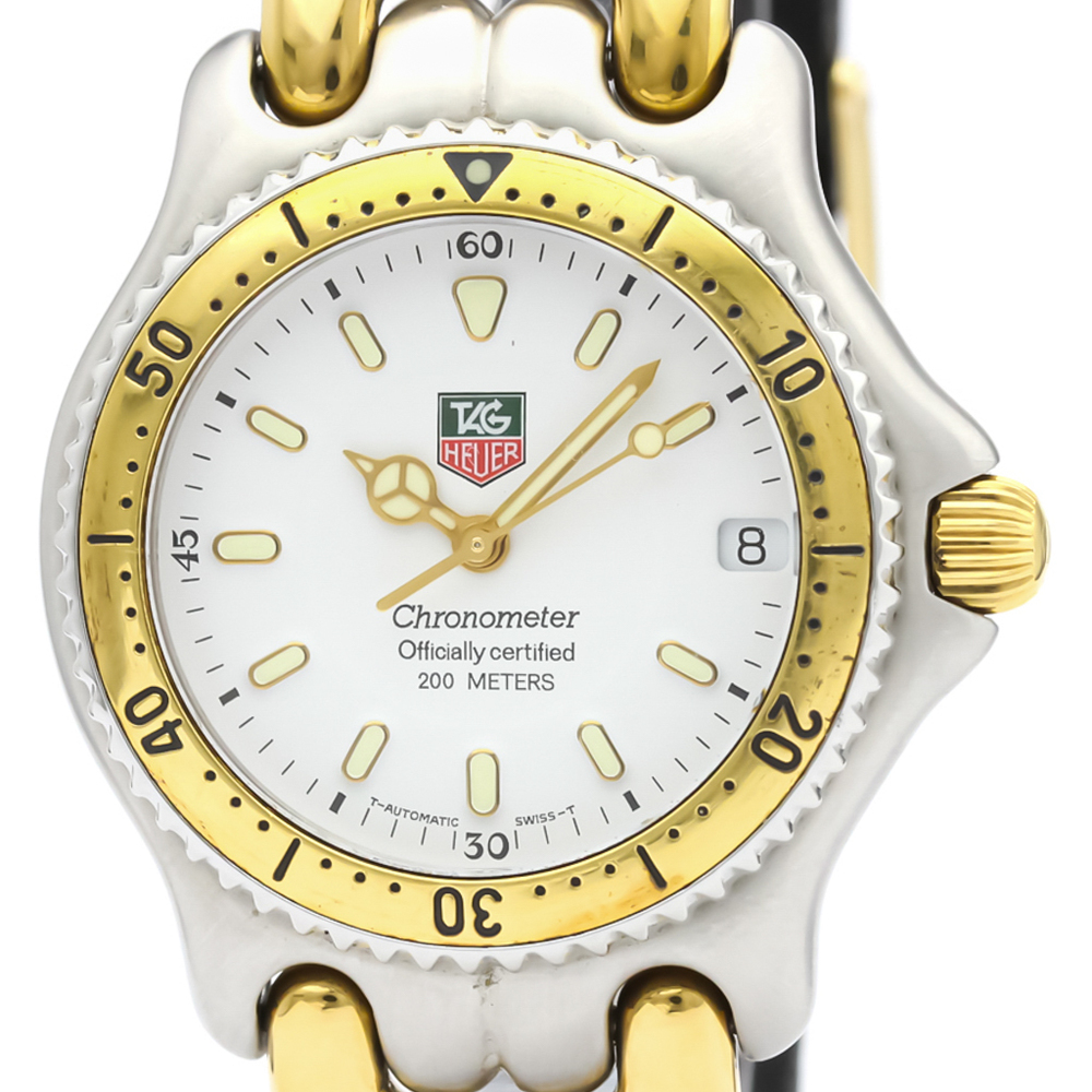 Tag Heuer Sel Automatic Gold Plated,Stainless Steel Men's Dress Watch S87.813