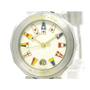 CORUM Admirals Cup Steel Quartz Ladies Watch 39.610.20