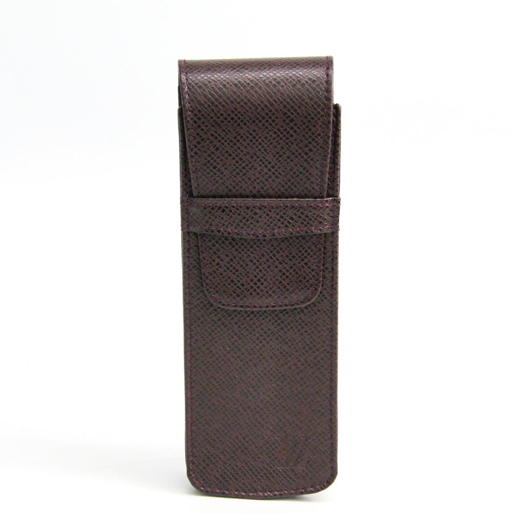 ルイ・ヴィトン(Louis Vuitton) タイガ タイガ ペンケース (アカジュー) ドックソロ M64866
